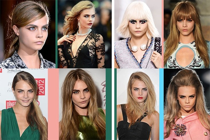 Boldest Celebrity Hair Transformations