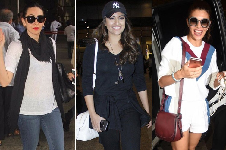 Bollywood Celebrites Airport Styles