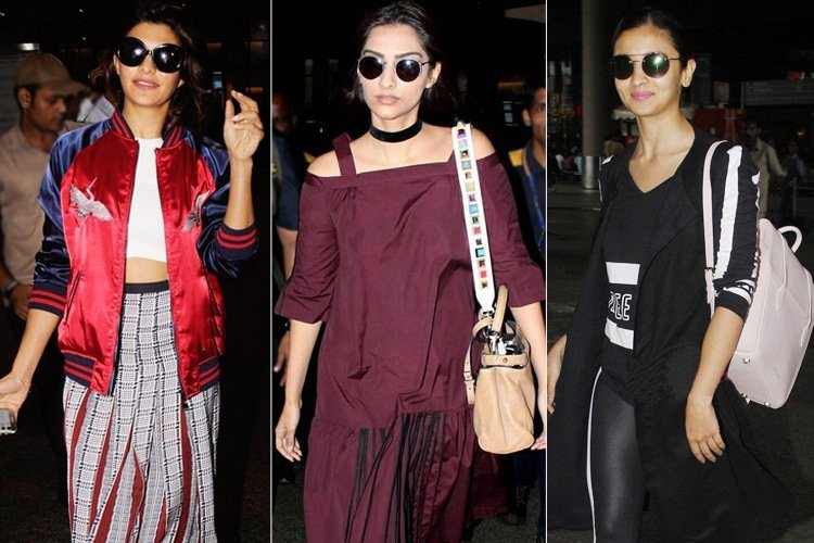 Bollywood Celebrities Airport Fashion