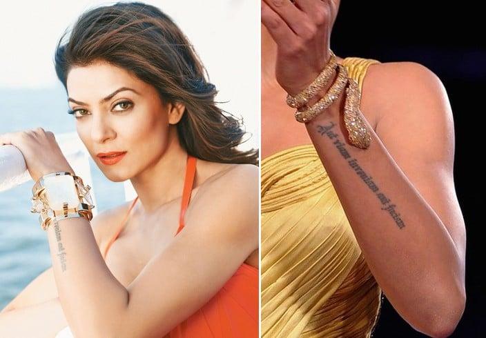 Celebrity Tattoos & Their Meanings: What do Malaika Arora ...