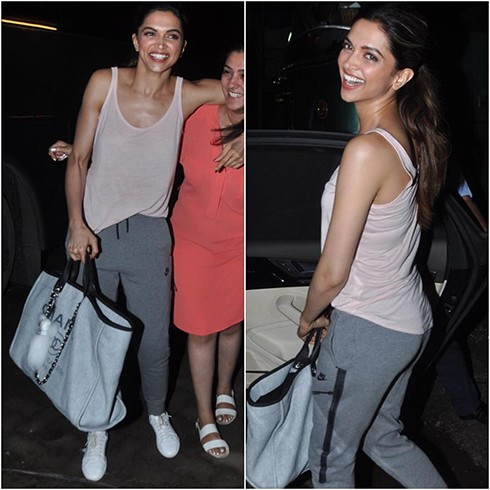Deepika Padukone Airport Fashion