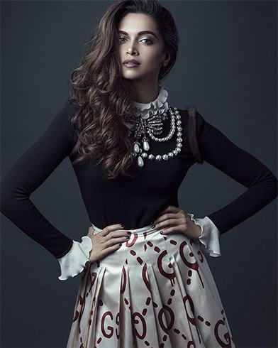Deepika Padukone On Paper Magazine