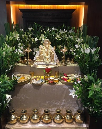 Ganesh Puja Celebrations
