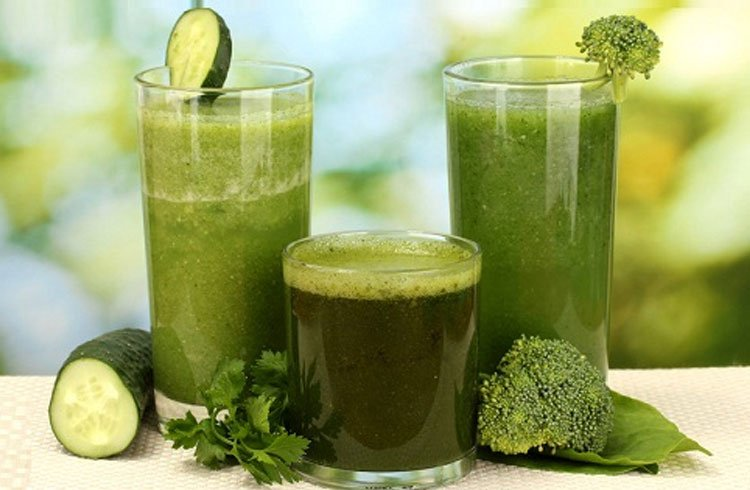 Green juice For Clear Skin