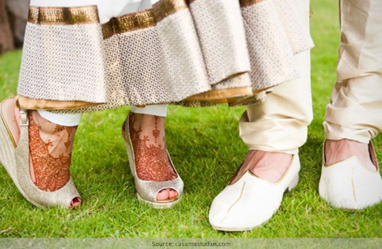 Shoes For Weddings On Grass