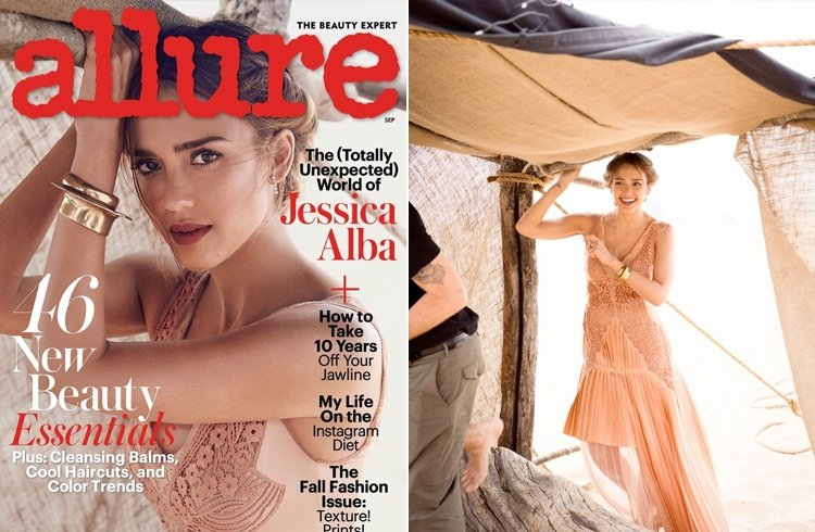 Jessica Alba for Allure Magazine
