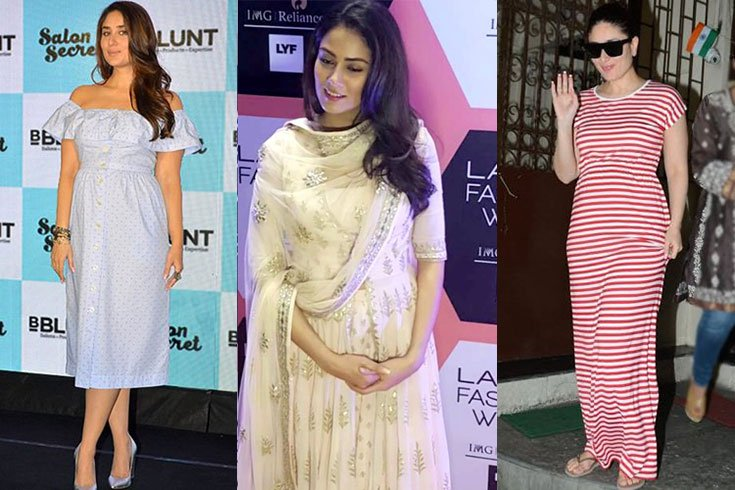 e667f727db1 Celebrity Mom-To-Be Pregnancy Styles - Kareena Kapoor And Mira Rajput