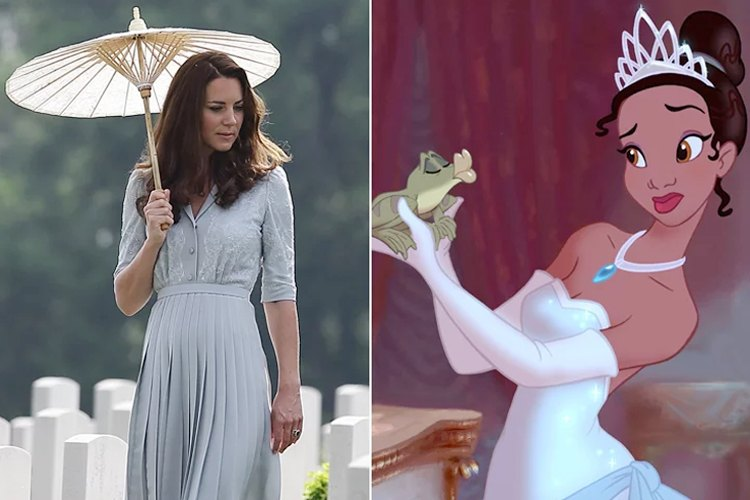 Kate Middleton looks that will remind you of a Disney Princess