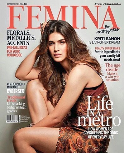Kriti Sanon On Femina