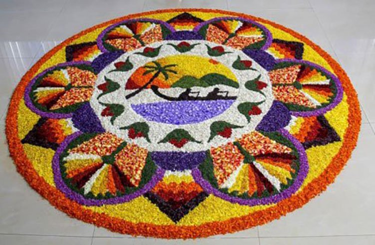 2017 fashion design competition - 38 Onam Pookalam Creative Designs To Adorn Your Homes This