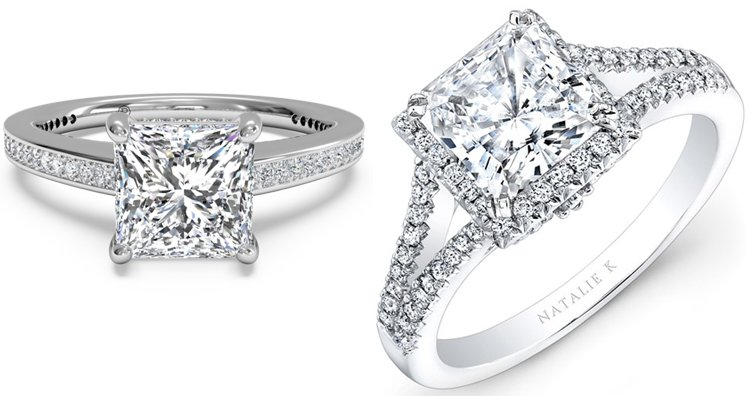 Princess Diamond Ring cut