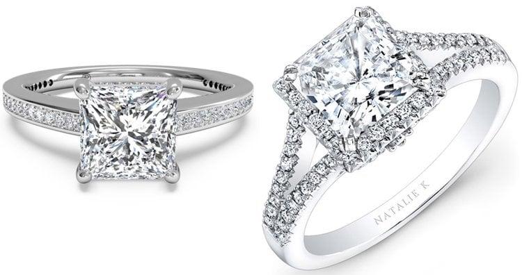 Princess Diamond Ring cut