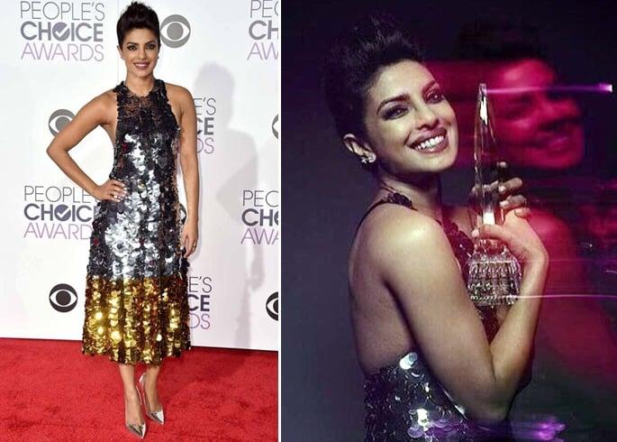 Priyanka Chopra At Peoples Choice Awards 2016
