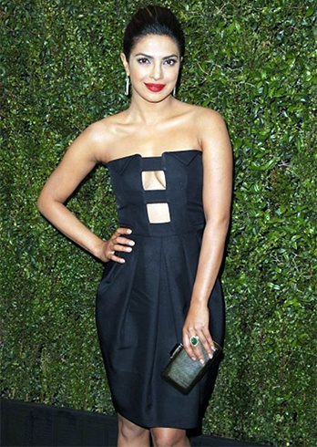 Priyanka Chopra At Pre-Oscar Dinner Party 2015