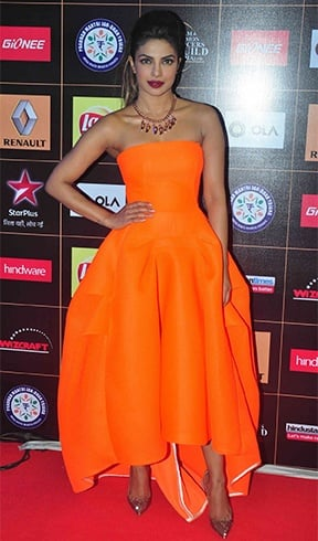 Priyanka Chopra At Renault Star Guild Awards 2015