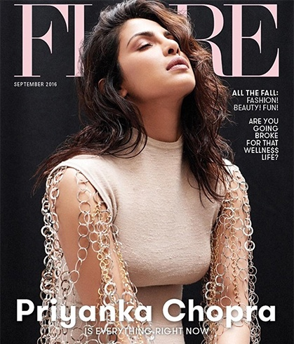 Priyanka Chopra On Flare