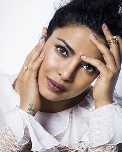 Priyanka Chopra in Albertta Ferretti