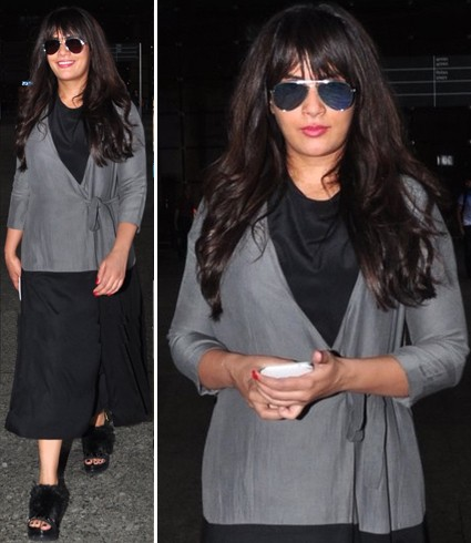 Richa Chadda Airport Fashion