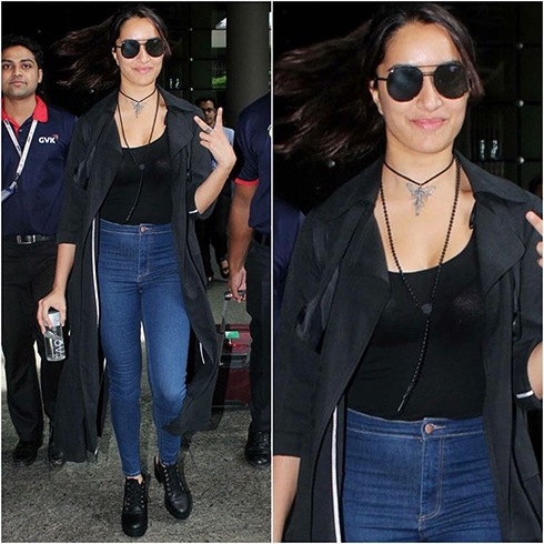 Shraddha Kapoor Airport Fashion