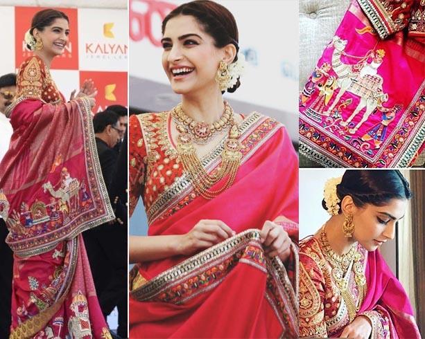 Sonam Kapoor At Kalyan Jewelers