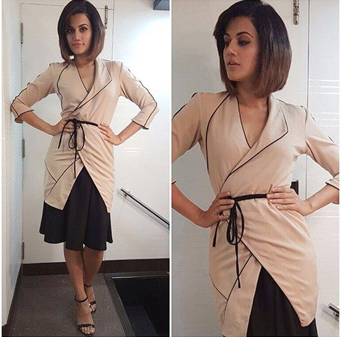 Tapsee Pannu In Rhea Pillai Rastogi and Zara