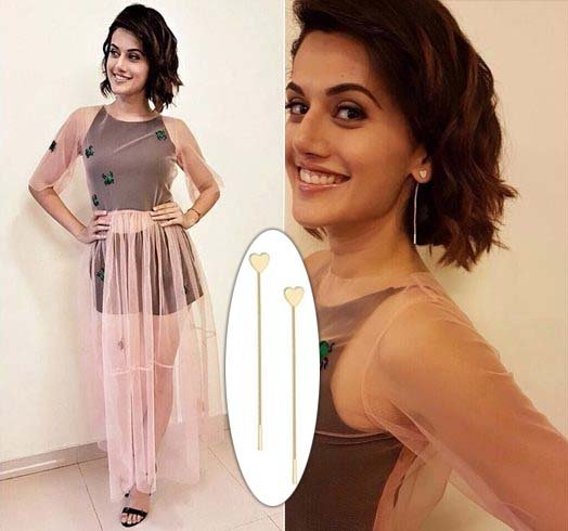 Tapsee Pannu In Pink Porcupines