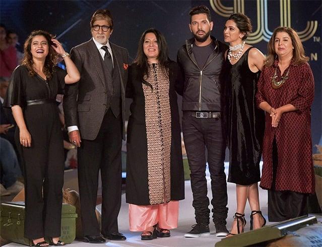 Yuvraj Singh With Celebrites