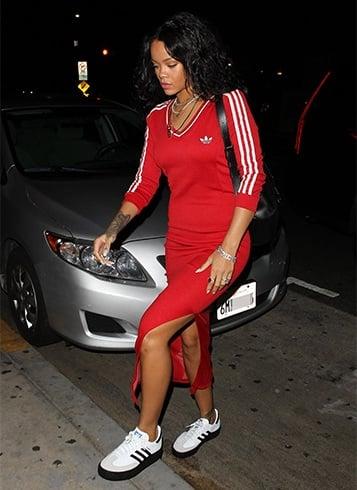 celebrity Adidas Sambas Shoes