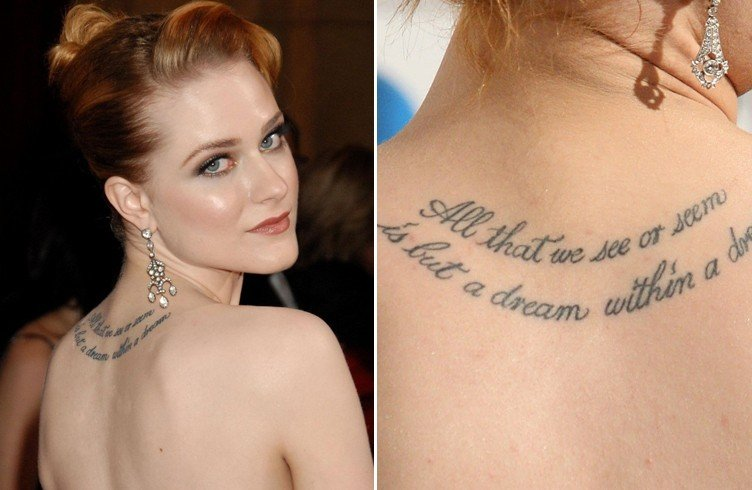Celebrity tattoos: famous men and women with body art ...