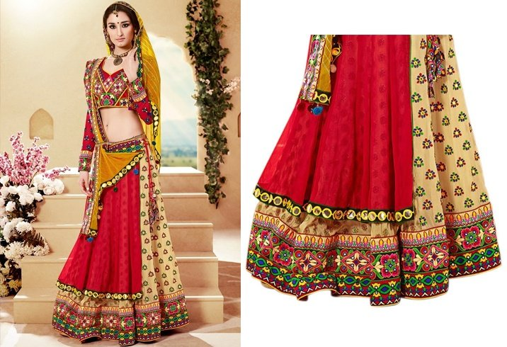 Chaniya Choli Designs For Navratri