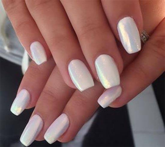 chrome nail arts