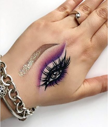 Hand Makeup Ideas