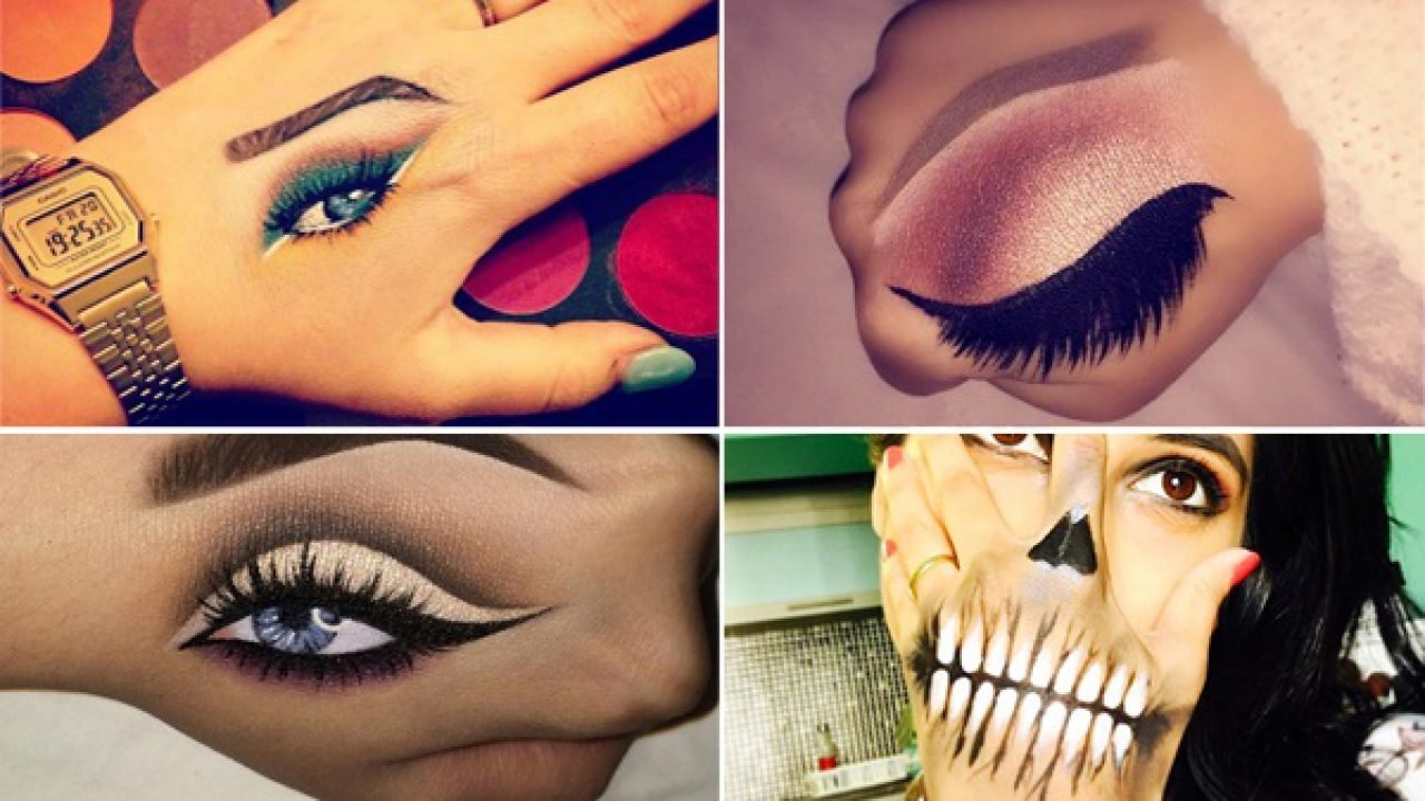 Hand Makeup Is The New Trend For Makeup Enthusiasts