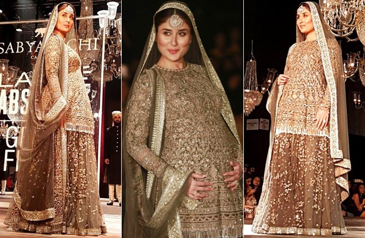 kareena kapoor ramp walk during pregnancy