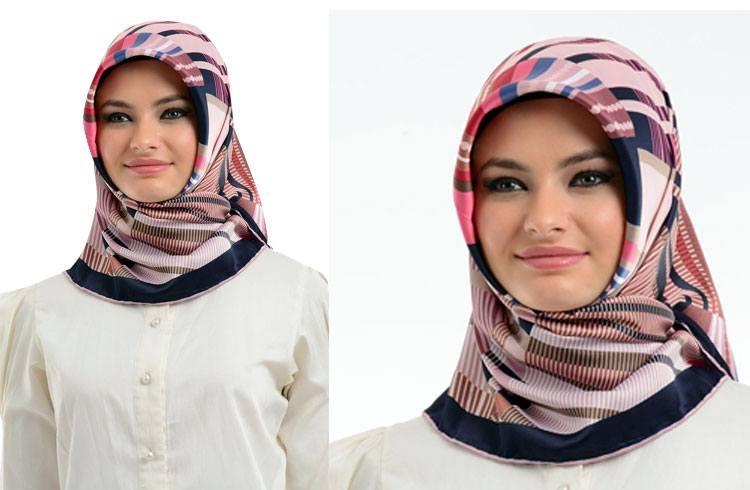 scarfs in bright colors