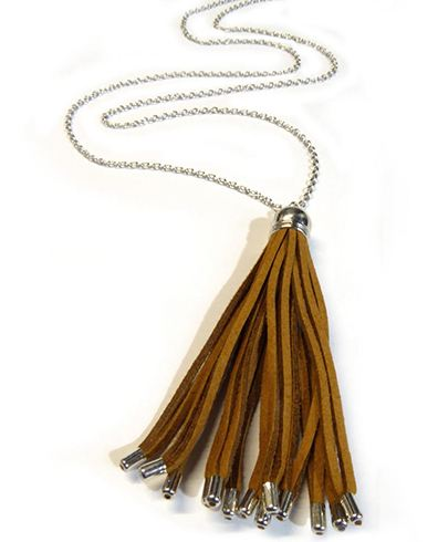 tassel necklace trends