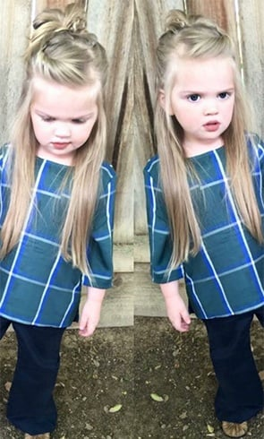Toddler Girls Long Hairstyles