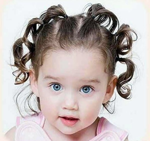 Toddler Hairstyles For Curly Hair