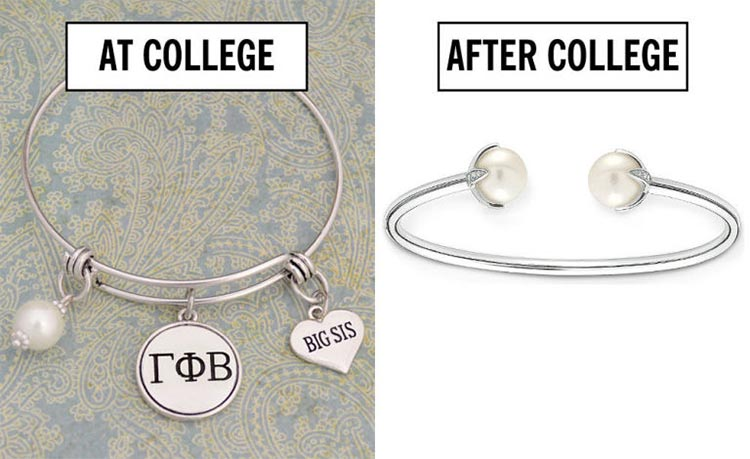 top things to stop wearing after college