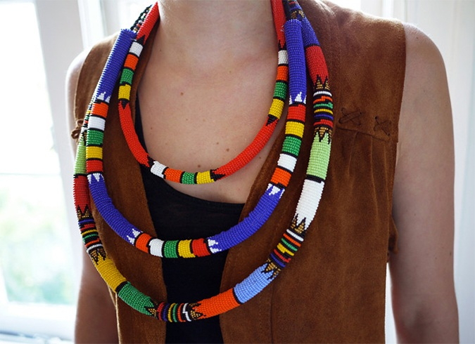 African Necklaces Designs