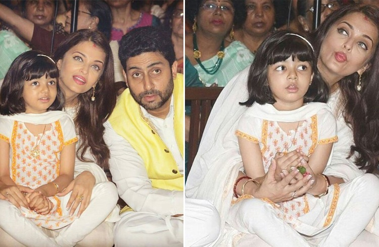 Aishwarya Rai Bachchan At Durga Puja