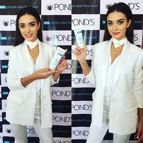 Amy Jackson At Ponds Event