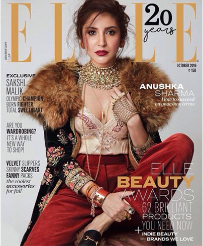 anushka sharma on elle