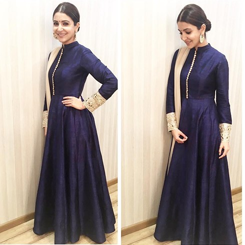 Anushka Sharma In Manish Malhotra