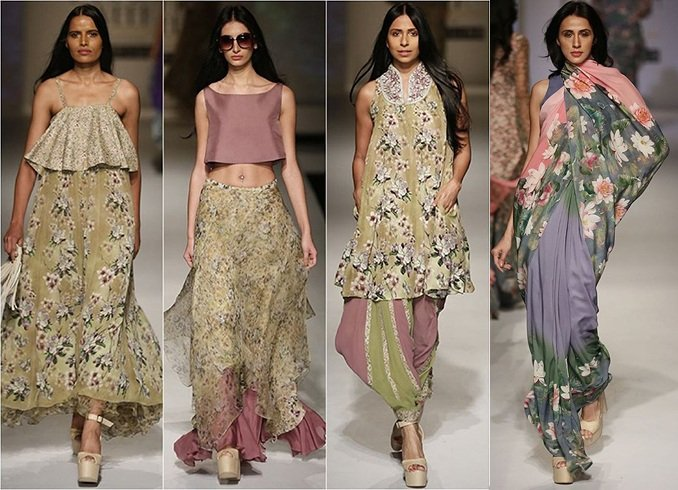 Ashima Leena AIFW Collections