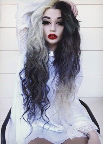 Black And White Haircuts