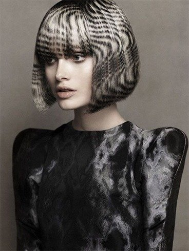 Black and White Hairstyles Ideas