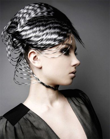 Black White Hair Styles