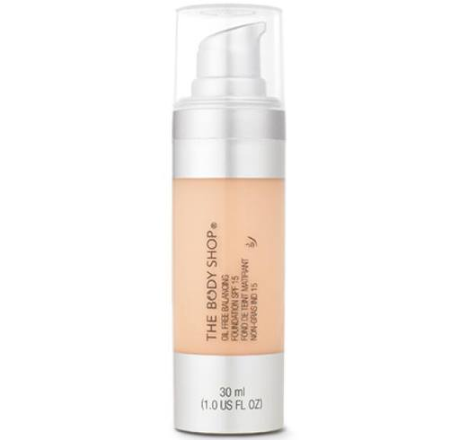 Body Shop Oil Free Balancing Foundation Spf 15