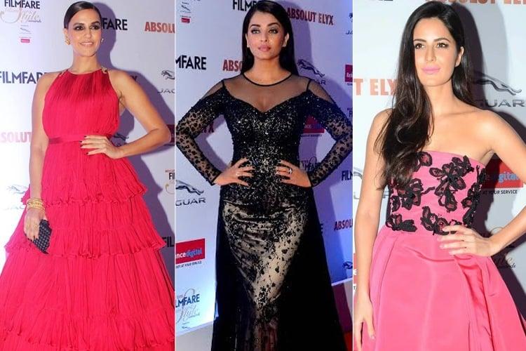 Bollywood Celebs Filmfare Fashion